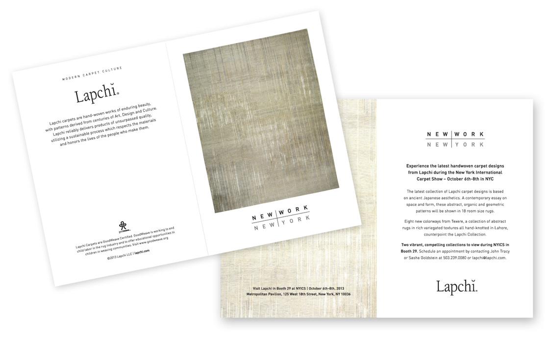 Dbd David Bailey Design New Work New York Trade Show Invitation