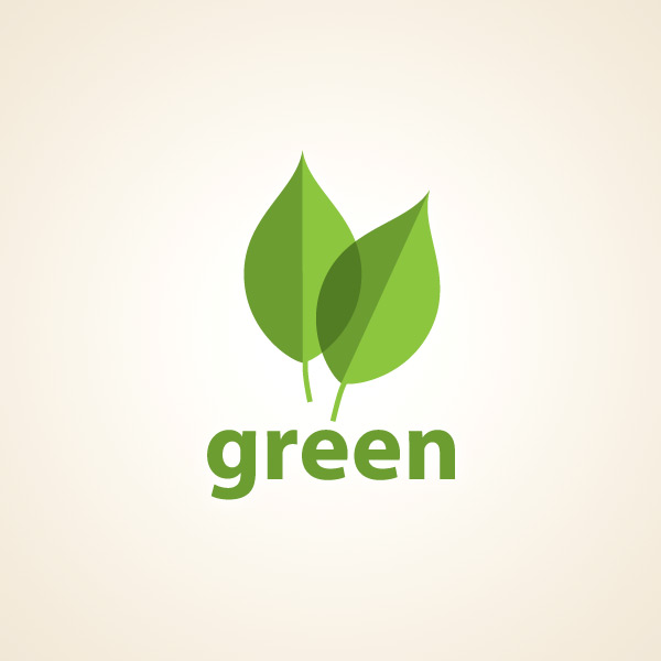 Green Logo Leaf Design