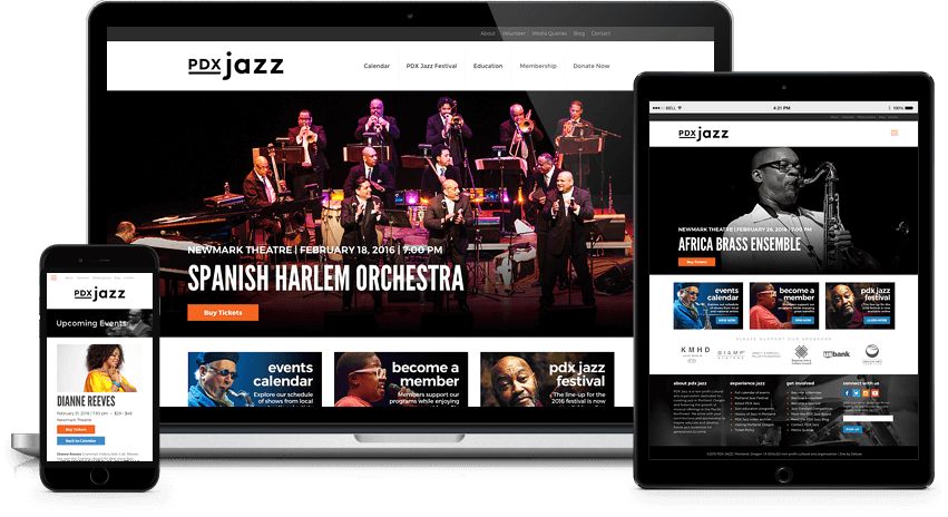 pdx-jazz-wordpress-website