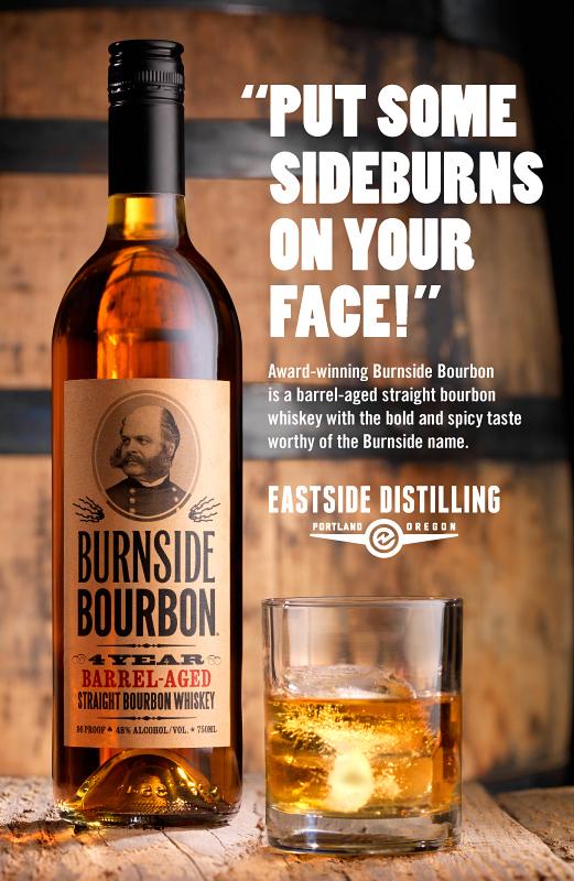 Burnside Sideburns Ad