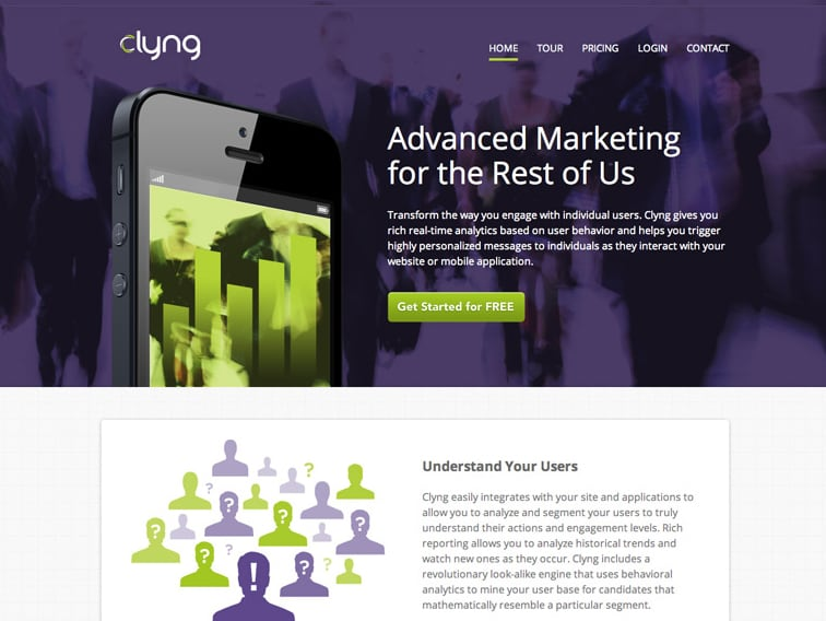 Clyng Wordpress Website