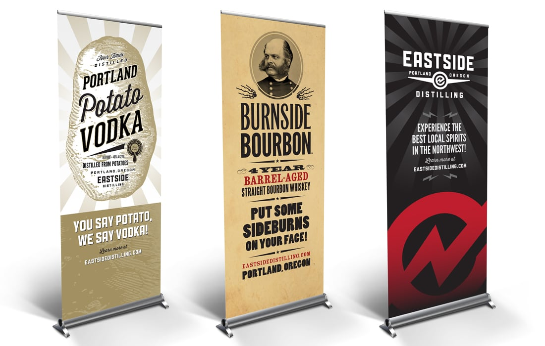 DBD Eastside Tradeshow Pop up Banners