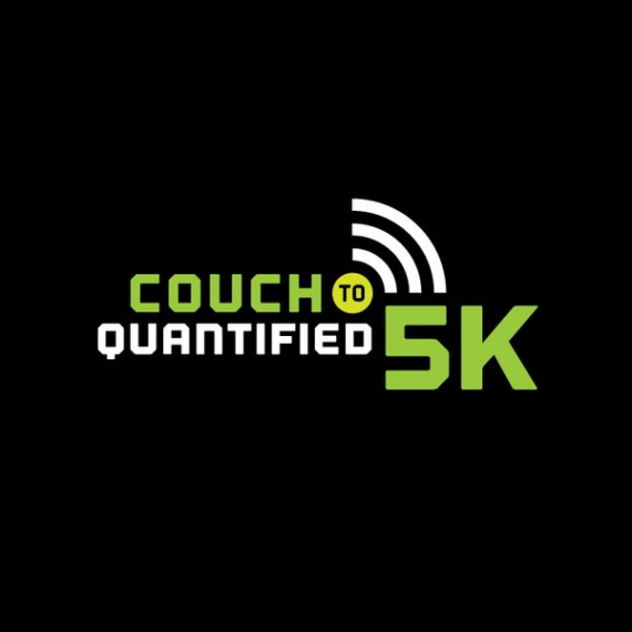 Couch 2 Quantified Running Race Logo Design