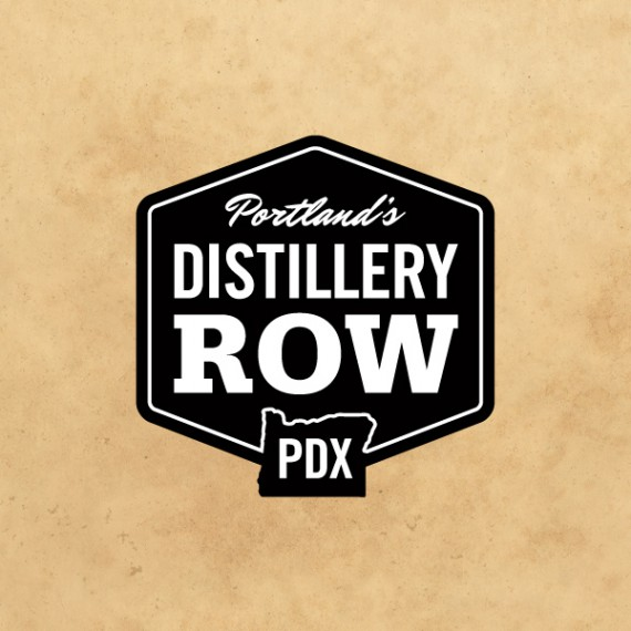 Distillery Row Logo Design and Branding
