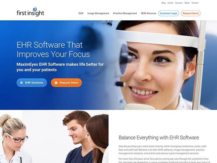 First Insight Wordpress Website