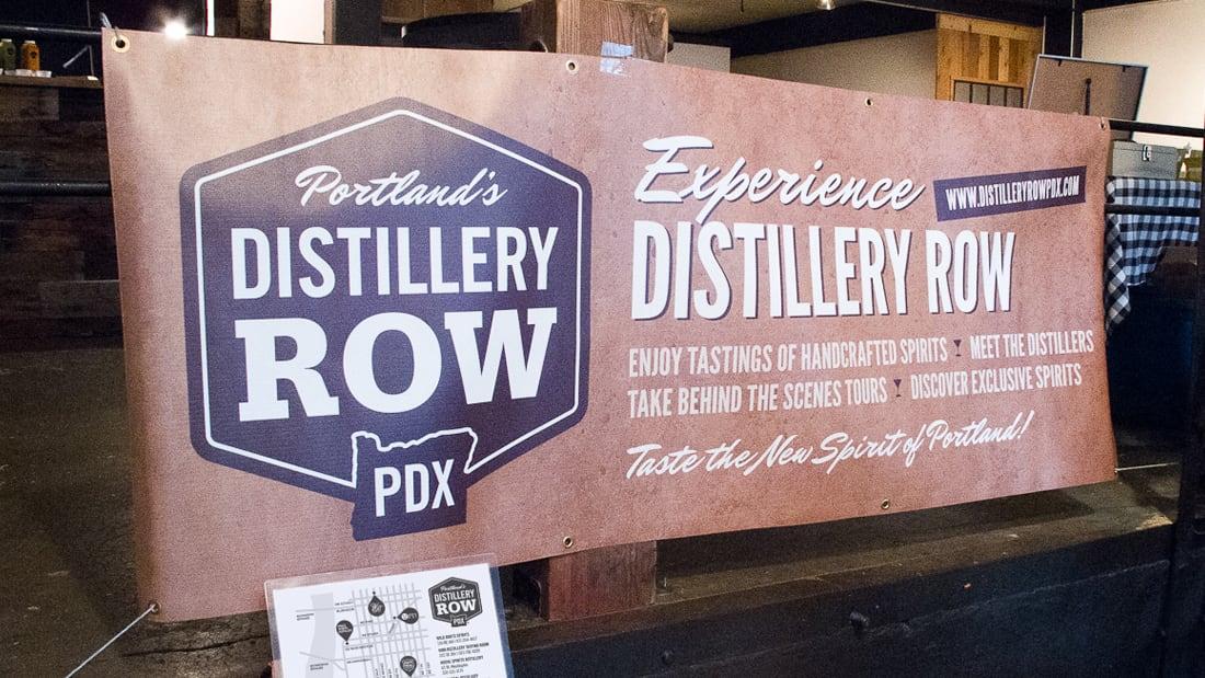 Distillery Row Tradeshow Banner Design