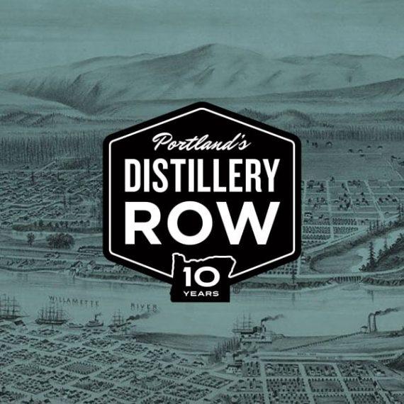 Distillery Row Logo Design and Branding