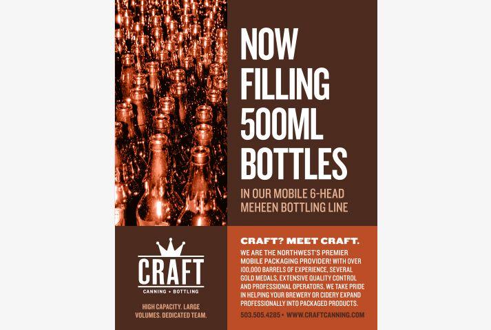 Craft Canning + Bottling Ad
