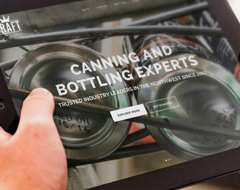 Craft Canning + Bottling Website