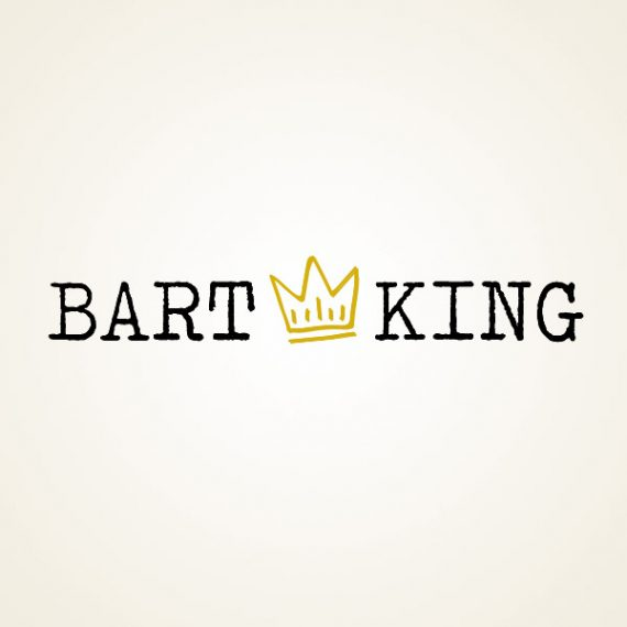 Bart King Logo Design
