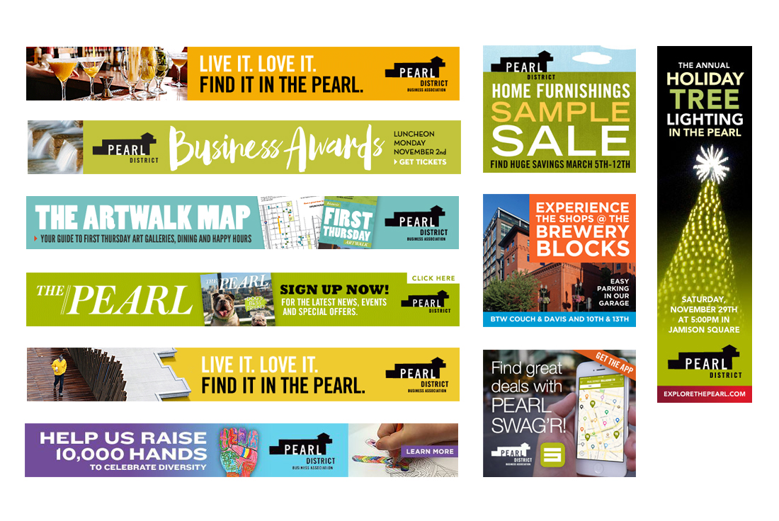 Pearl Web Banner Ads PDX