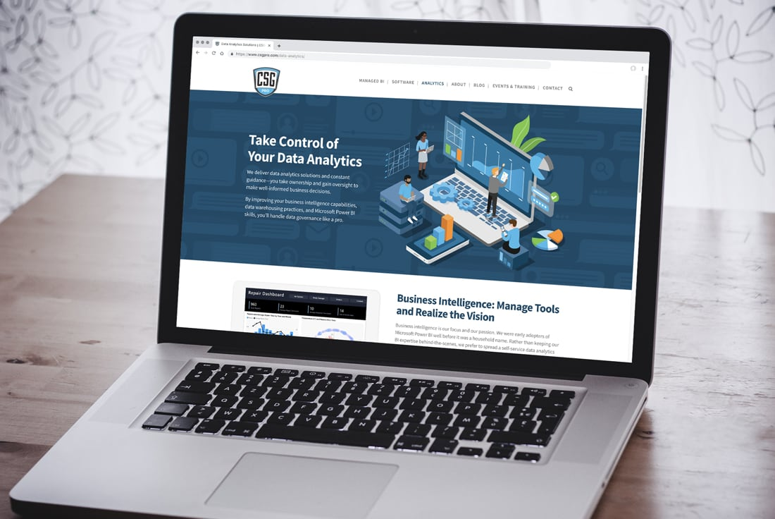 Wordpress Website for CSG Pro Software Wizards