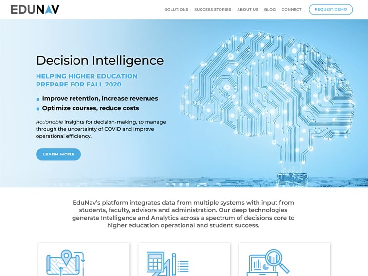 EduNav Wordpress Website Design