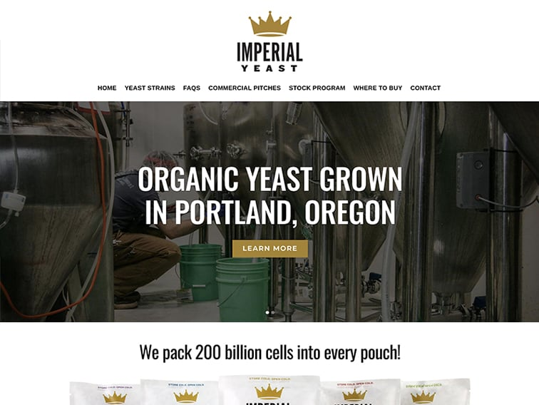 Imperial Yeast Website