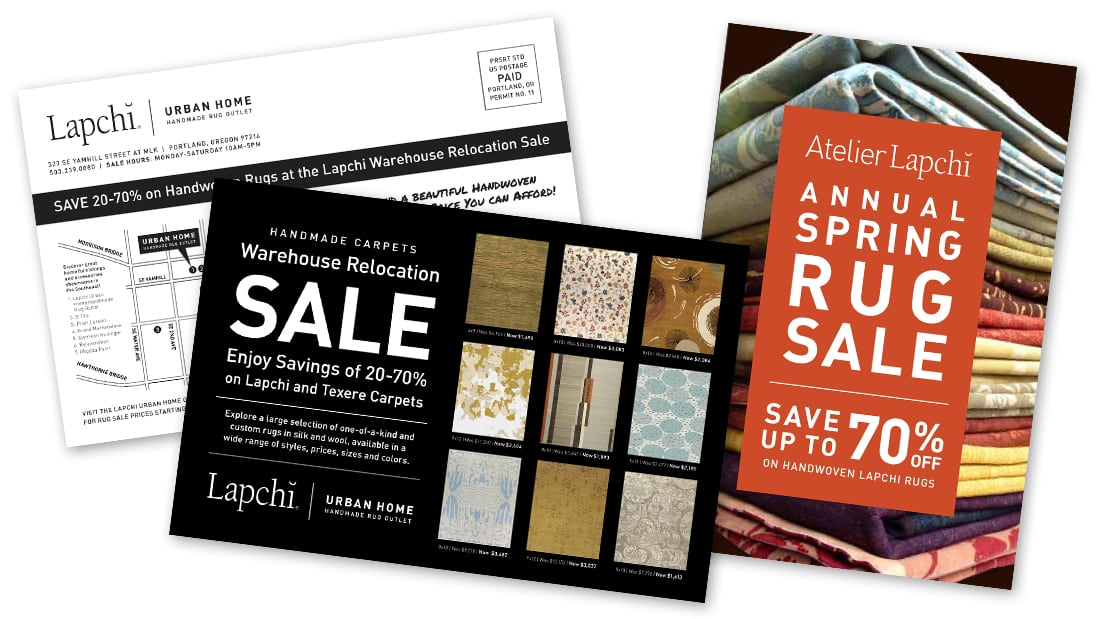 Lapchi Rug Sale Postcards