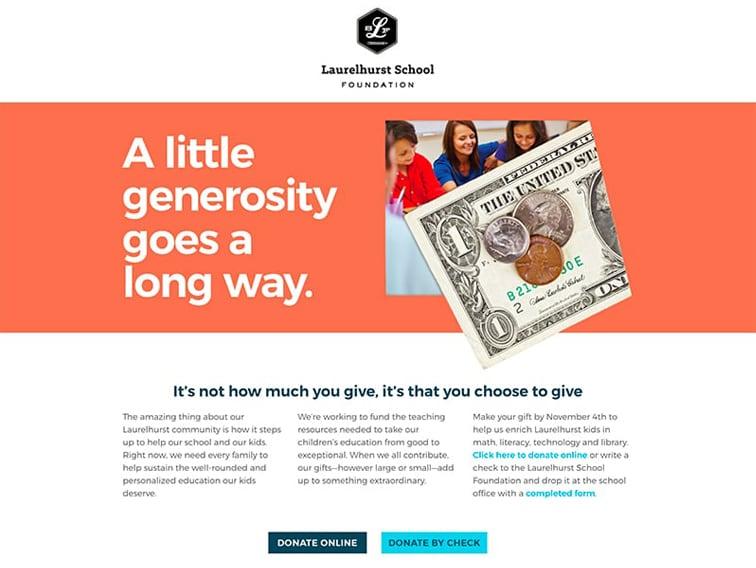Laurelhurst School Foundation Website