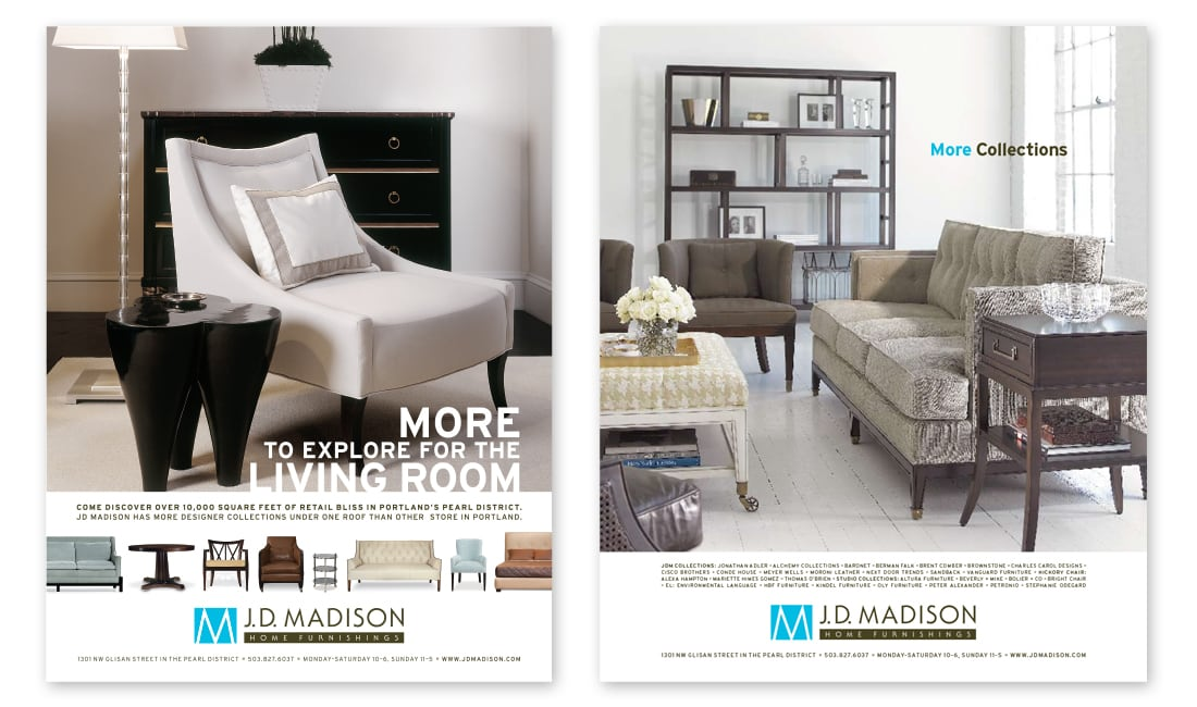 JD Madison Advertising Design