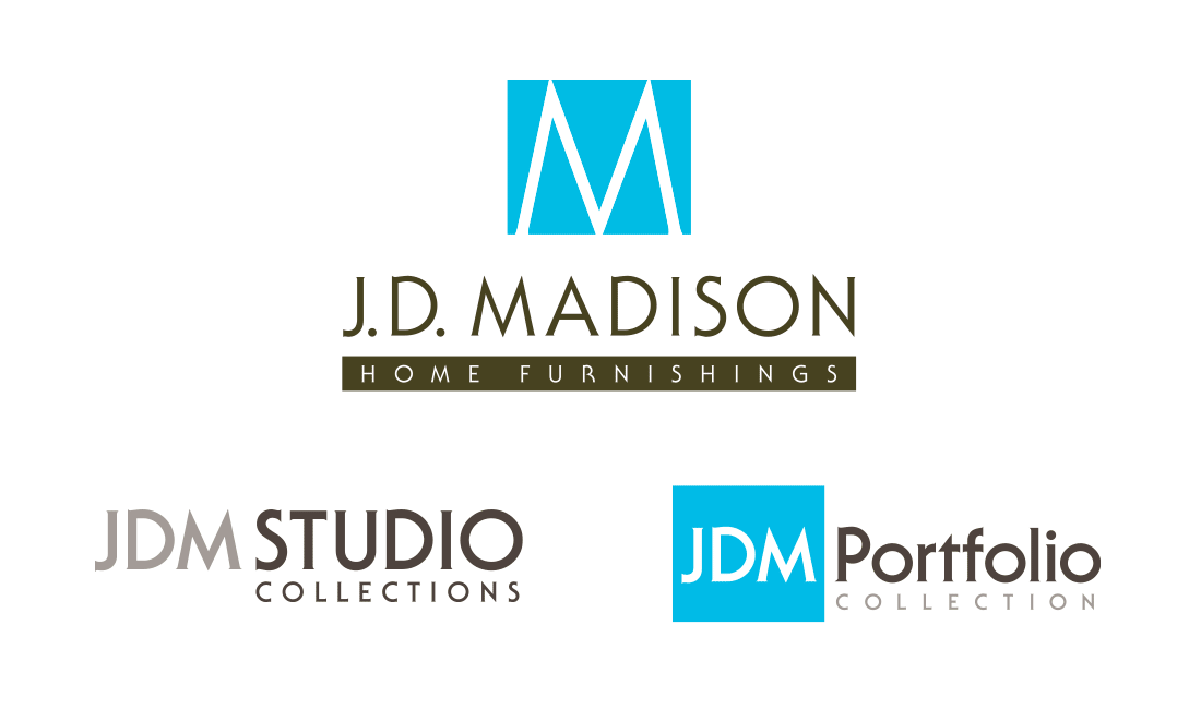 JD Madison Furniture Logo Designs