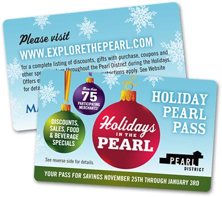 PDBA Holiday Pearl Pass